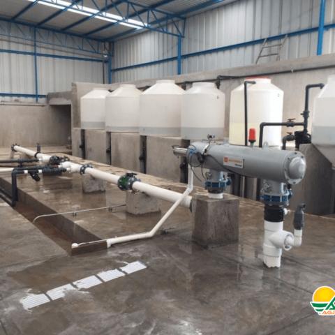 sistema de riego y dosificación de fertilizante