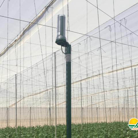 monitoreo de clima en invernadero