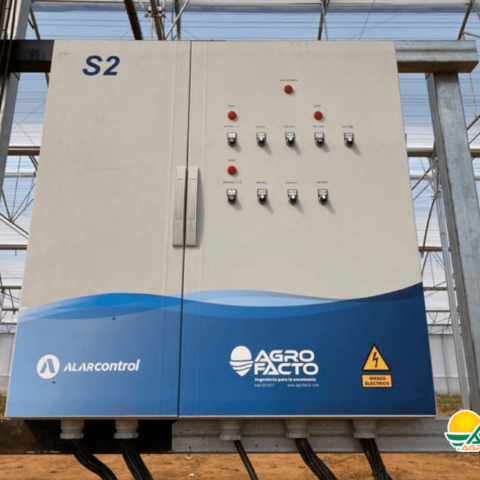 automatización de invernadero